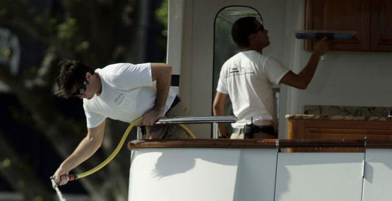 megayacht crew jobs