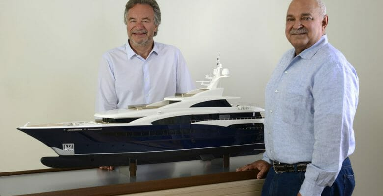 Turquoise Yachts builds megayachts under the guidance of Mehmet Karabeyoglu and Mohammed al-Barwani