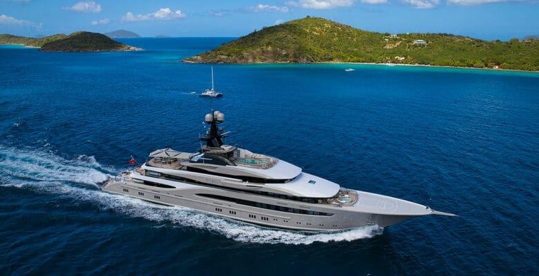 Lurssen Kismet Miami Yacht Show megayachts; where the megayachts are for Christmas includes Miami