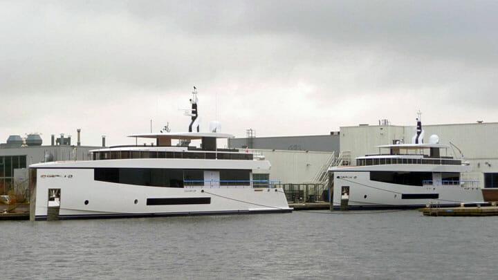 Hull 691 Hull 692 Hull 693 Feadship