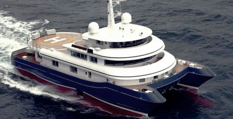 Alexander Dreyfoos yacht Silver Cloud