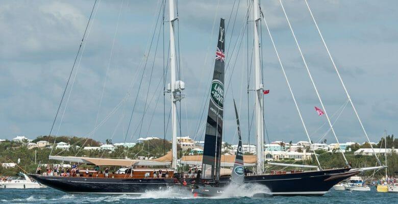 America's Cup Superyacht Program Bermuda megayachts