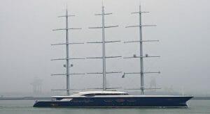 Oleg Burlakov was the owner of Black Pearl, the Oceanco sailing superyacht