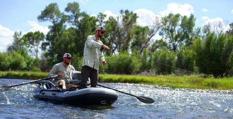Flycraft Stealth inflatable fishing boat megayacht tender