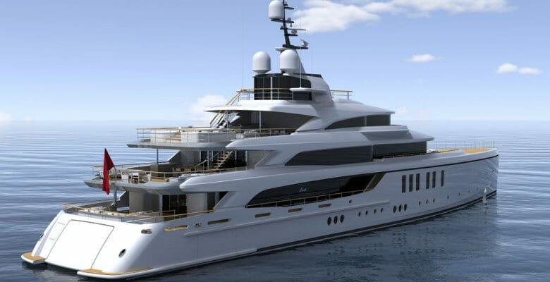 Benetti FB276 megayacht