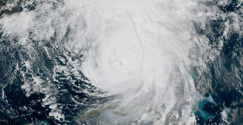 hurricane Irma NOAA satellite image megayacht impact story