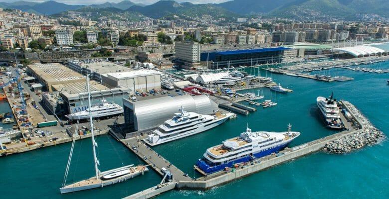 Amico & Co. megayacht refit shipyard