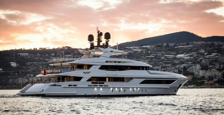 Baglietto Andiamo megayacht International Superyacht Society Awards of Distinction finalist