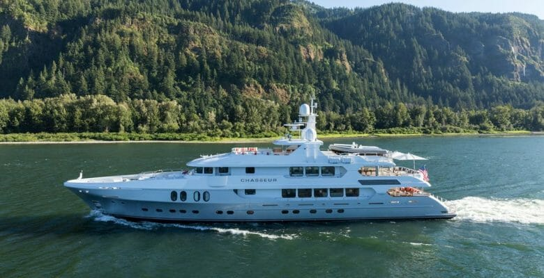 Christensen Chasseur superyacht design