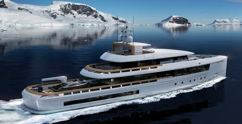 Momentum Series megayachts Admiral brand The Italian Sea Group