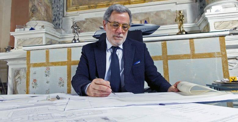 Tommaso Spadolini megayacht designer