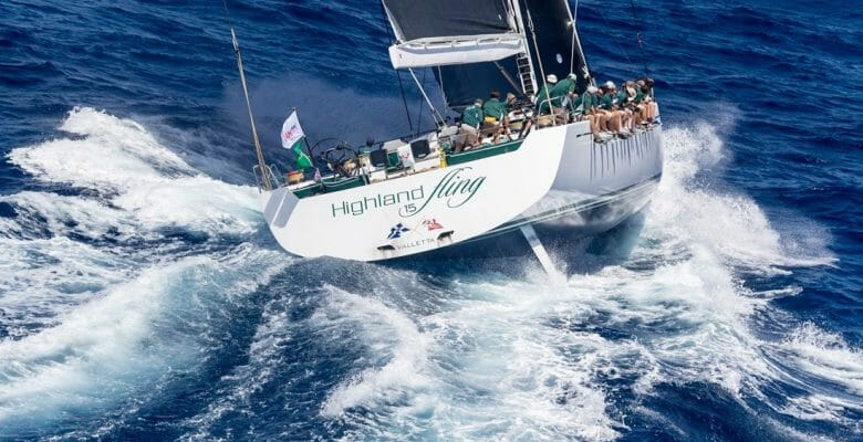Highland Fling superyacht cup palma