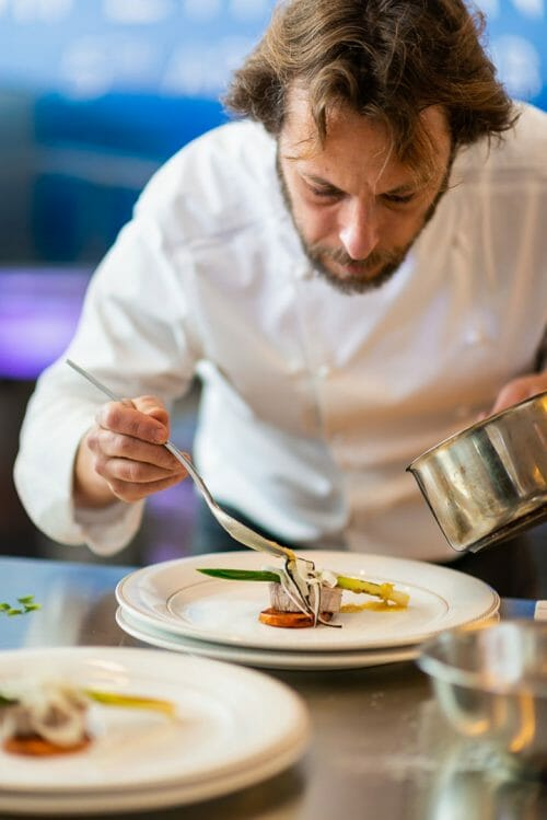 Bluewater superyacht chef competition