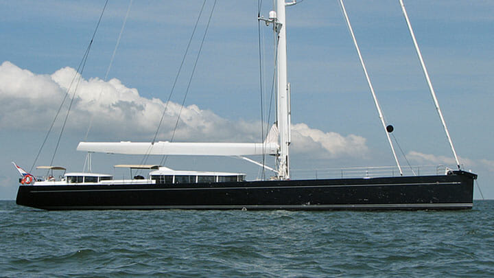 G2 sailing superyacht as Cinderella IV before refit