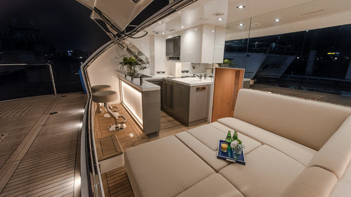 Horizon megayacht Skyline FD87
