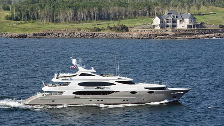 Mustang Sally charter megayacht Below Deck