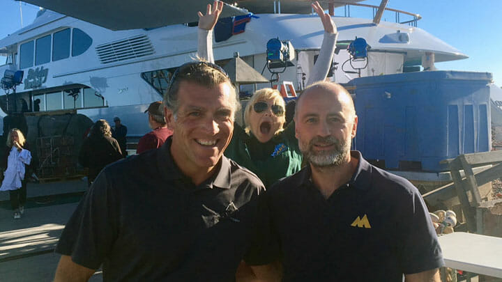 Aspen Alternative in Overboard movie as Birthday Present megayacht