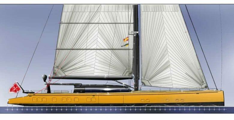 Barracuda Yacht Design sailing explorer superyacht 44 meters