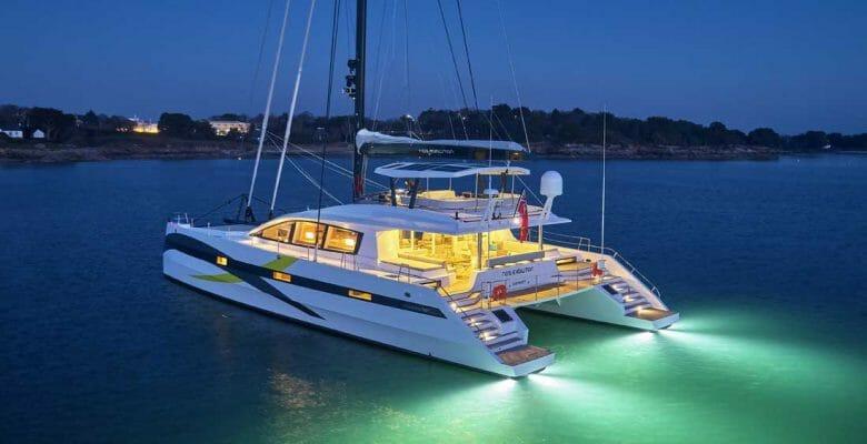 NDS Evolution megayacht catamaran JFA Yachts