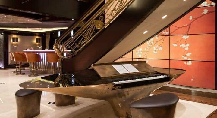Kismet Spectacular Superyachts Inspired Interiors Superyacht Storytellers book; she's also among the superyachts in Miami for Super Bowl LIV