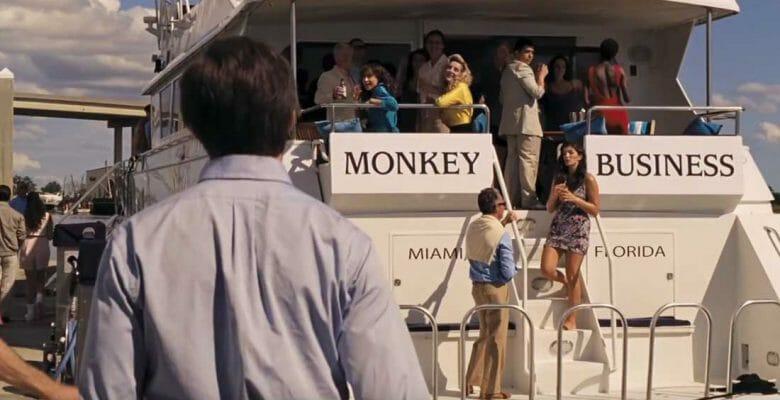 Monkey Business megayacht The Front Runner movie
