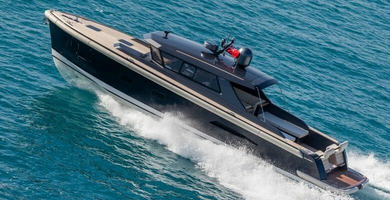 Nauta Tender 48 for sailing superyacht