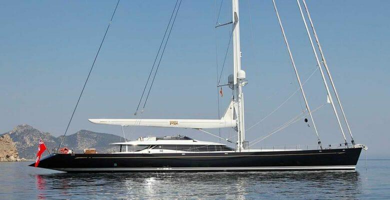 Prana sailing superyacht