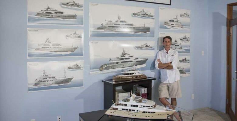 Ward Setzer megayacht Setzer Yacht Architects