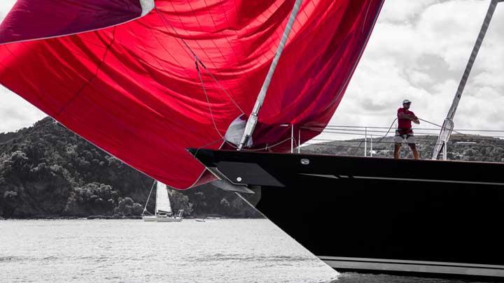 superyacht Thalia Millennium Cup 2019