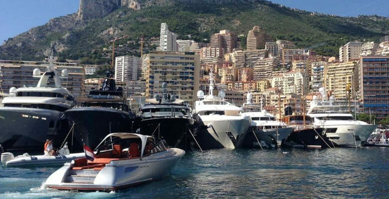 U.S. built yachts chartering in Europe Monaco Yacht SHow Superyacht Awards Ceremony