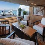 ISA Yachts megayacht Agora III beach club