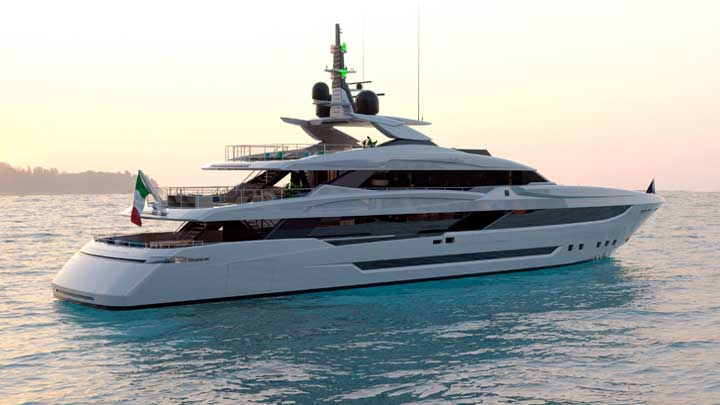 Mondomarine Classic 50 superyacht bears Luca Dini Design styling