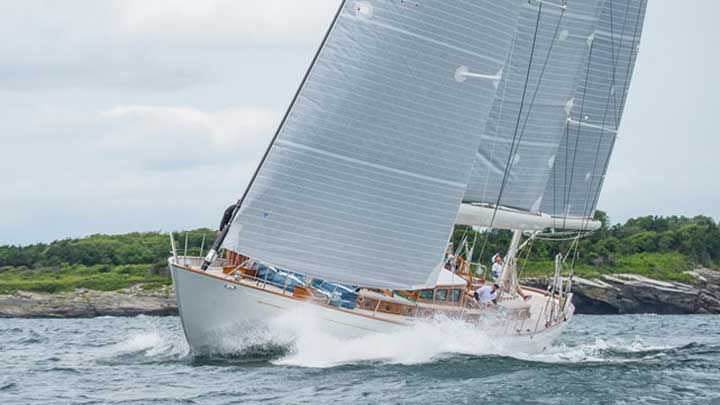 Bequia competes in The Superyacht Cup Palma 2019
