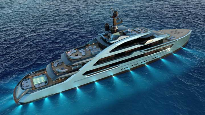 the Next 70 superyacht proposal comes from Tankoa Yachts and Francesco Paszkowski Design