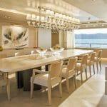 Megayacht News Onboard: Dragon, by Columbus Yachts