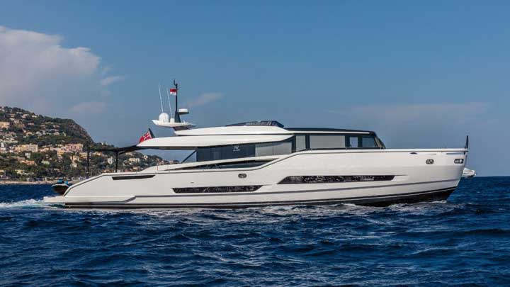 the Extra 86 Fast is among the megayachts Making the 60th Anniversary of FLIBS