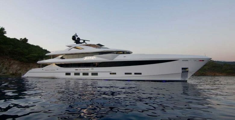 Baba's is is among the megayachts Making the 60th Anniversary of FLIBS
