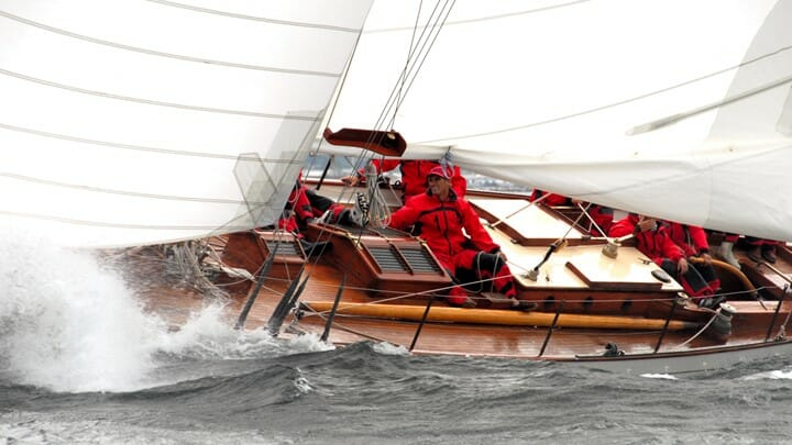 the sailing yacht Dorade was a milestone for Sparkman & Stephens