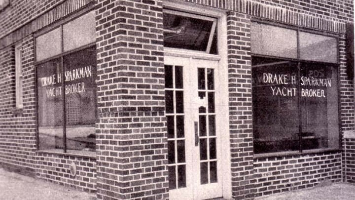 the original office for Sparkman & Stephens, which today designs yachts and megyachts