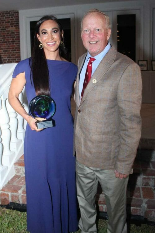 Katherine Zacarian received the NextGen award at the 2019 Founders Event of the International SeaKeepers Society