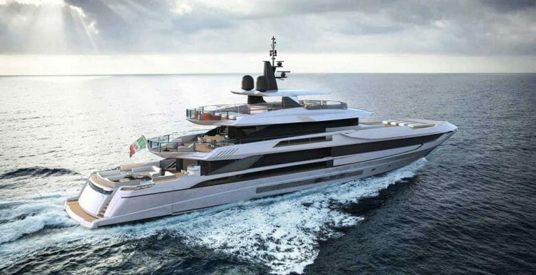 the first Mangusta Oceano 50 megayacht sees delivery in 2021