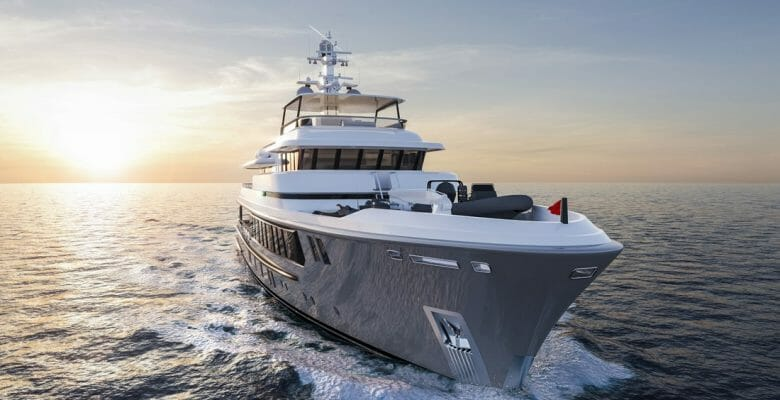 the Nordhavn 148 is the largest megayacht from Nordhavn and Vripack
