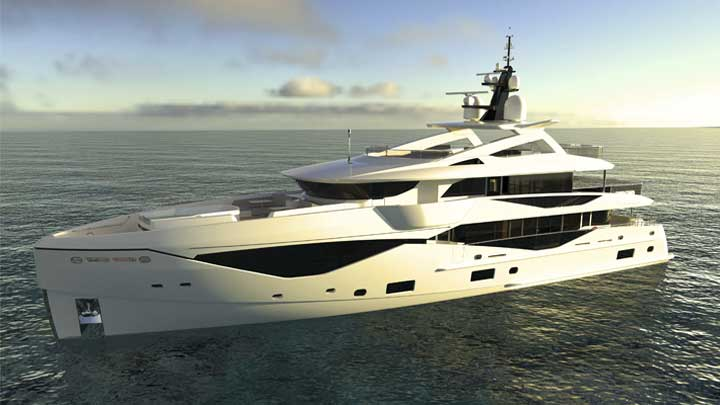 the Sunseeker 133 Yacht is part of the new Sunseeker Superyacht Division
