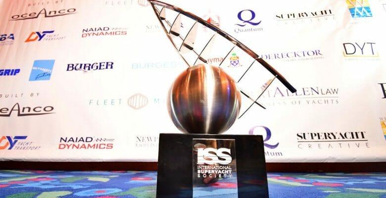 the International Superyacht Society Design & Leadership Award Gala prize
