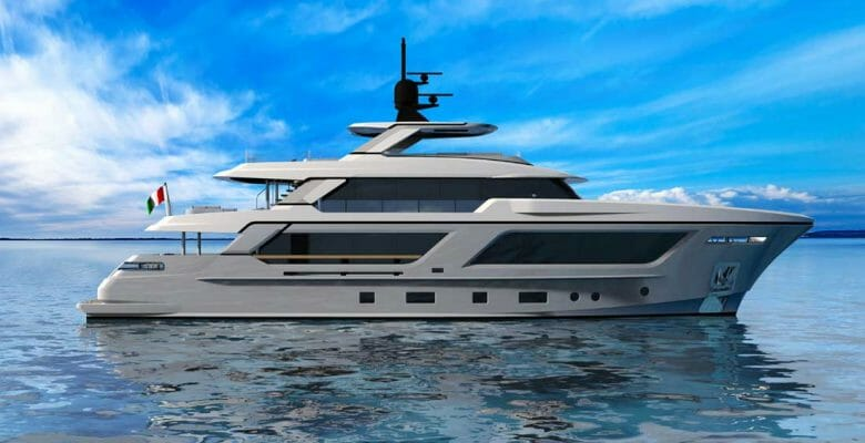 the MG115 from Cantiere delle Marche has attracted another megayacht buyer