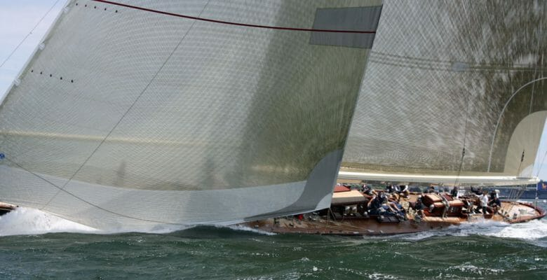 four J Class racers including the superyacht Velsheda will race in several regattas as a fleet from 2020 to 2021
