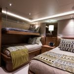 Hat Trick is one of the latest megayachts in the Westport 112 series