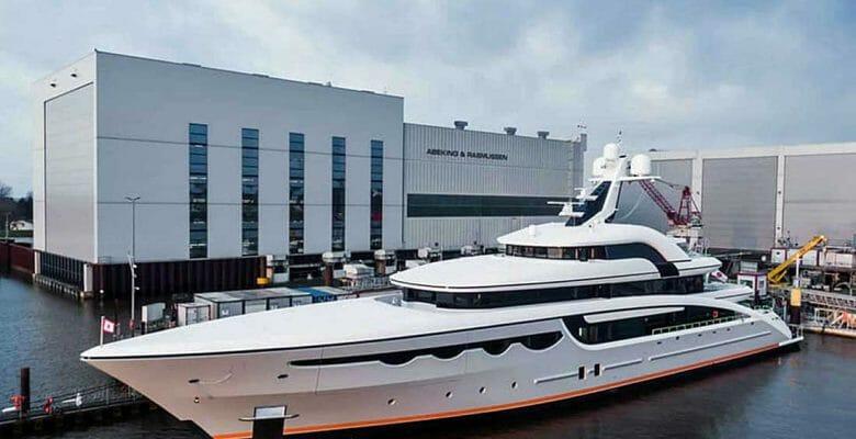 Soaring is a megayacht built by Abeking & Rasmussen