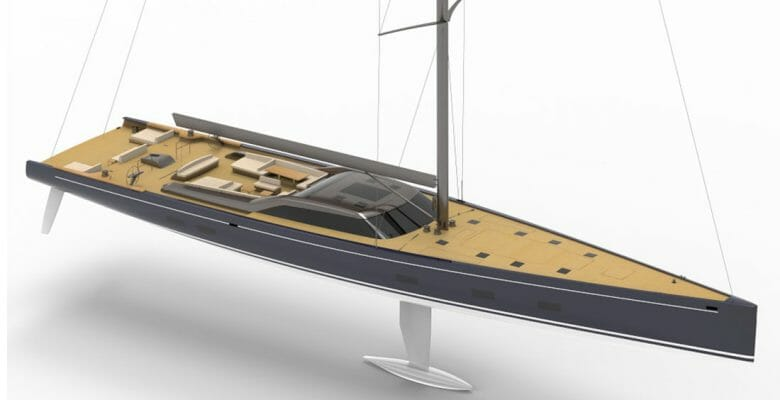 Royal Huisman Project 405 is a superyacht sloop coming in 2022