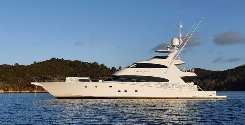 Al Duhail is a superyacht sportfisherman from Yachting Developments